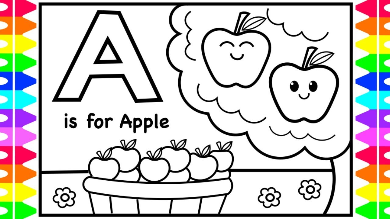 abc coloring page # 15