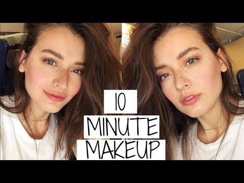 10 Minute FLIGHT Makeup Tutorial