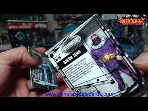 williamfreeman~2015 Upper Deck Marvel Vibranium Hobby Box Break