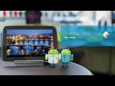 The GDG App Clinic - Prague