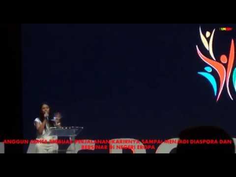 ANGGUN BLAK BLAKAN SOAL AWAL KARIRNYA GO INTERNATIONAL DI ACARA DIASPORA