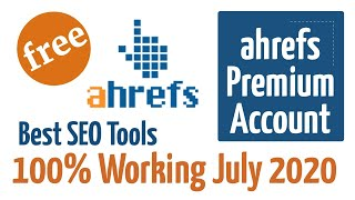 Ahrefs Premium tools for free 2020 | Ahrefs Best Premium SEO tool in Hindi (100% Working)