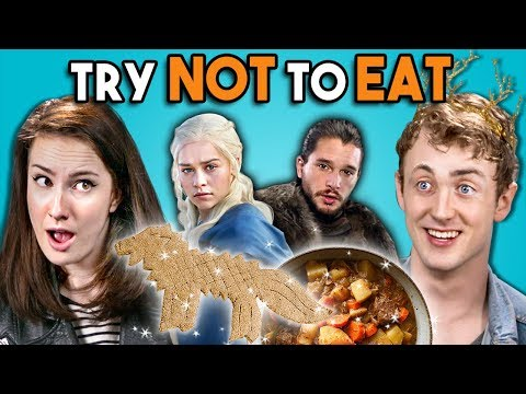 Try Not To Eat Challenge - Game of Thrones Food | People Vs. Food
