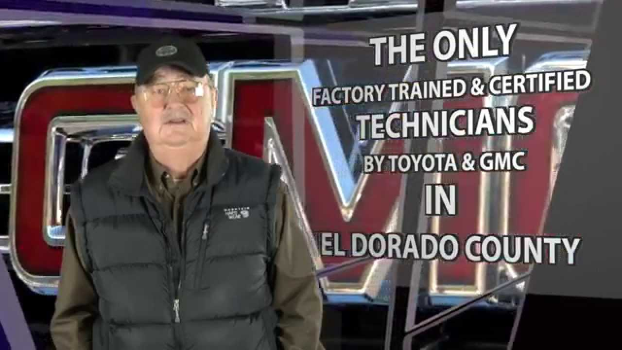 Thompson Toyota Placerville >> Thompson's Buick & GMC Recomends Steve Stymeist Auto Body ...
