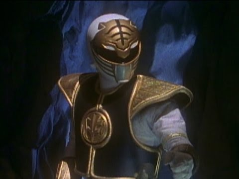 White Ranger finds the Zeo Crystal (Mighty Morphin Power Rangers)