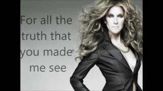Celine Dion Because You Loved Me Lyrics+Pictures 1080p HD