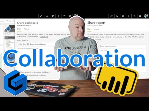 Sharing and Collaboration in Power BI