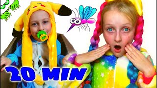 Tawaki kids and new kids video\pretend play with  mosquitoes 0+
