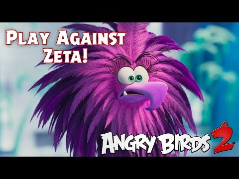Angry Birds 2 Defeat Zeta From The Angry Birds Movie 2 Youtube