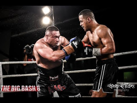"Hemi ""The Heat"" Ahio vs Daniel Tai - Big Bash Main Event - Auckland"