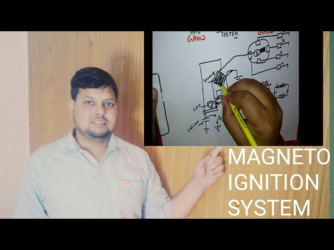 MAGNETO IGNITION SYSTEM(हिन्दी )!LEARN AND GROW