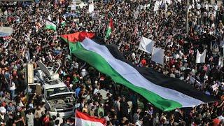 Iraqi cleric Sadr mobilises thousands at Baghdad pro-Palestinian rally