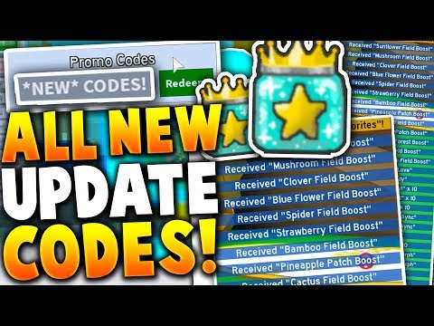5 *NEW* NIGHT UPDATE CODES RELEASED ON ROBLOX BEE SWARM SIMULATOR (Free Items)