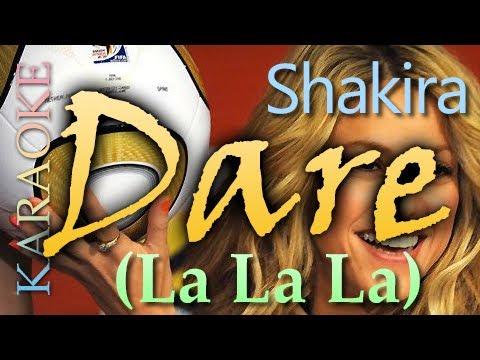 Shakira - Dare (La La La) Official Brazil 2014 World Cup Song [ KARAOKE + LYRICS ]