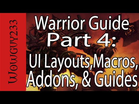 Warrior Guide - Addons and Guides for Vanilla, TBC and WoTLK