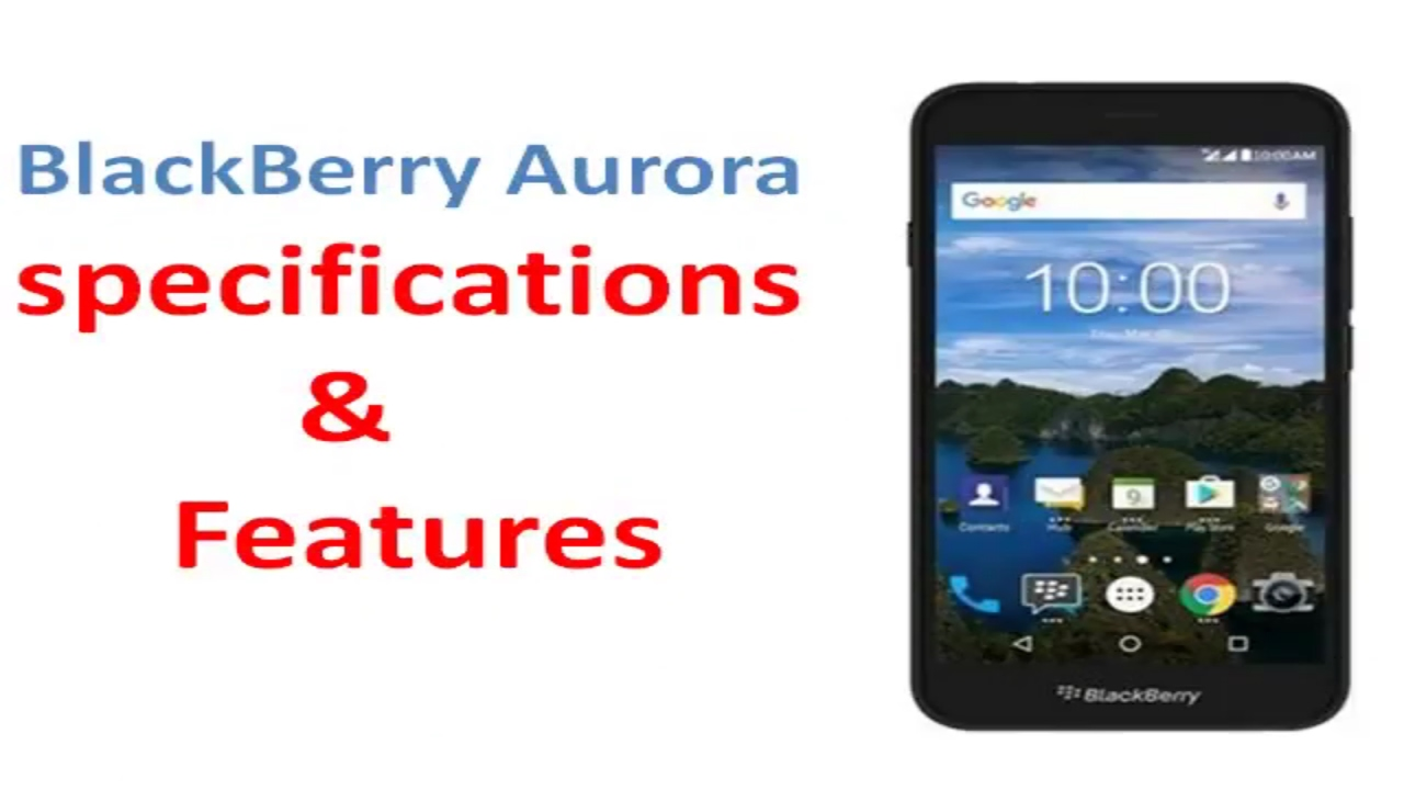 Smart Flip Cover Blackberry Aurora Specification Feature Youtube