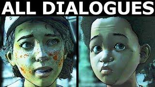 Schoolyard Intro Scene - All Dialogues - The Walking Dead Final Season 4 Episode 2 (Telltale Series)