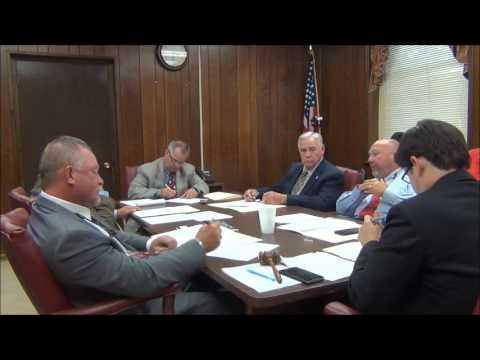Jackson Co Commission Regular Session 7-11-16