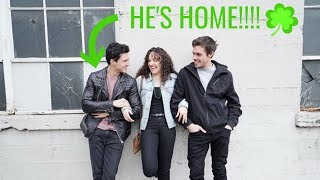 Gavin came home! | St  Paddy