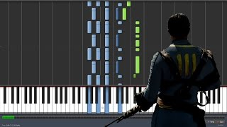 The Wanderer Dion Fallout 4 Piano Tutorial Synthesia