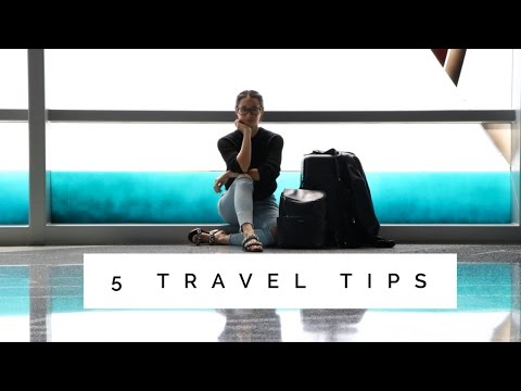 My Top 5 Travel Tips | How I Pack A Carry On | Aja Dang