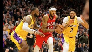 Los Angeles Lakers vs New Orleans Pelicans (3rd January) 2020 NBA Season Highlights