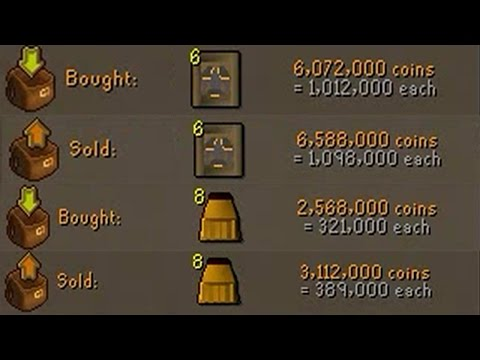 [OSRS] FLIPPING THE HIGHEST MARGIN ITEMS IN F2P - EP #1 - Flipping to 100m using F2p Items Only!