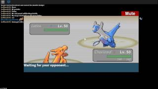 Roblox Project Pokemon: MEGA BATTLE! Charizard X Vs Mega Latios