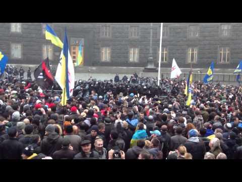 Ukraine. Storm of Cabinet of Ministers/ Украина. Штурм Кабинета Министров