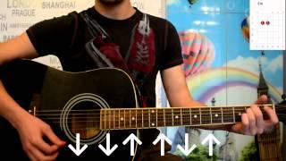 Скрябін маршрутка гітара розбір урок без баре