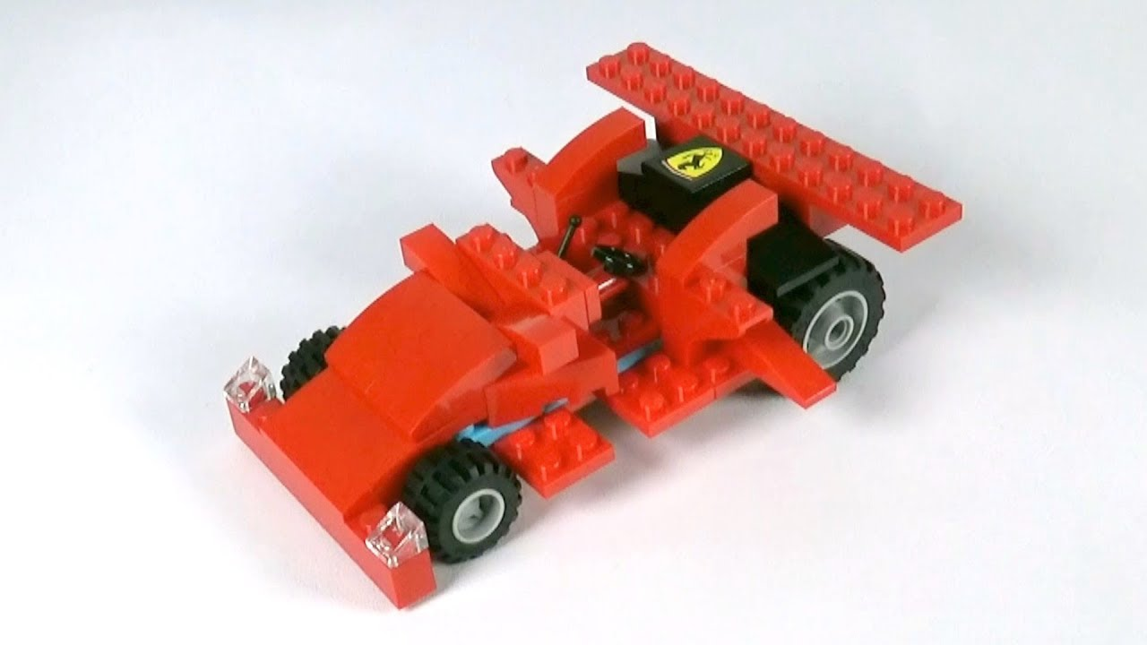 Lego Race Car 001 Building Instructions Lego Classic How To