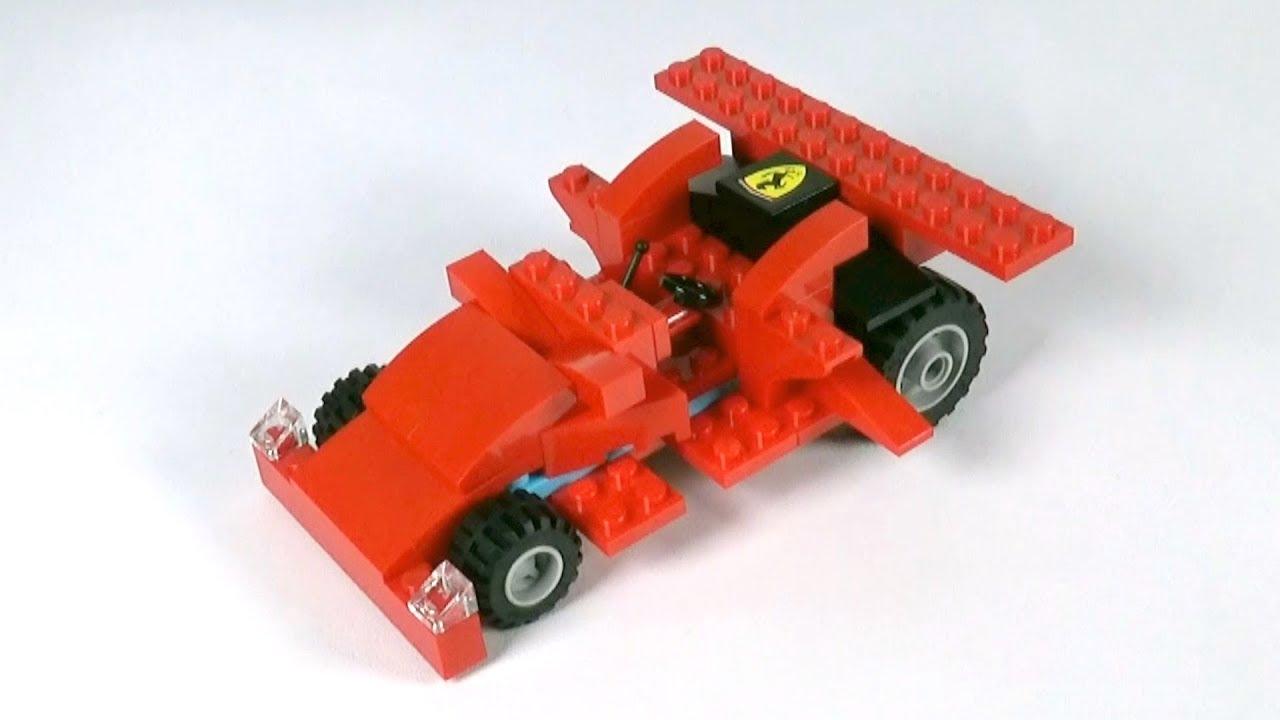 Lego Race Car (001) Building Instructions - LEGO Classic How To Build - DIY