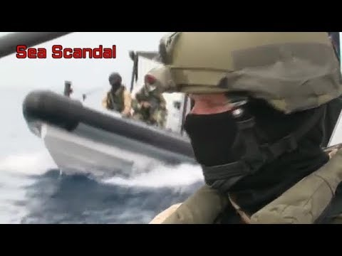 Somali Pirates VS Ship's Private Security Guard and Navy | Dutch Navy Copped Somali Pirates