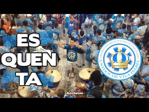 Vila Isabel 2017 - Bateria (Esquenta) - Salgueiro Convida