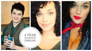 4 Year Male to Female Transition Timeline | Chloe M.