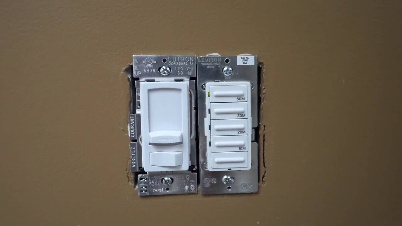 Leviton Digital Timer Switch Model Ltb60 Loud Clicking Noise