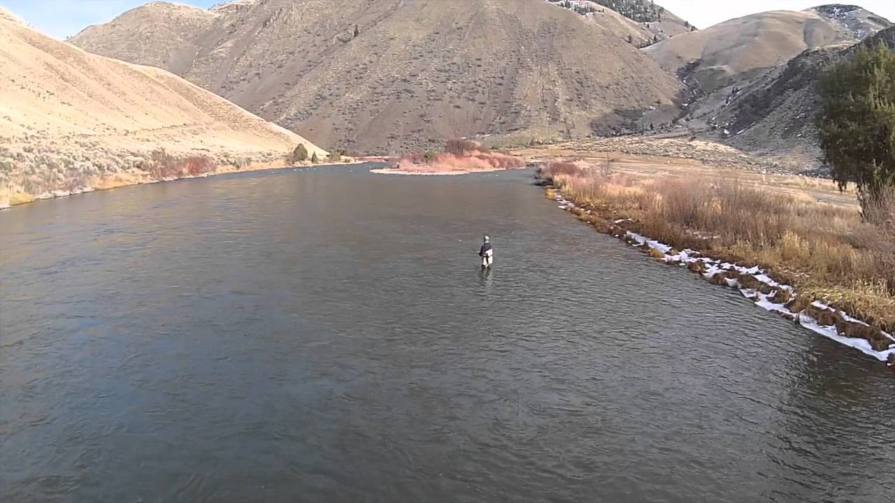 Salmon idaho steelhead fishing youtube for Idaho out of state fishing license
