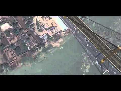 Satellite Map Of Kolkata InterSatellite Web Map Kolkata   YouTube