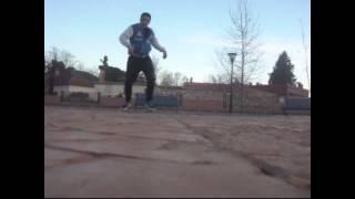 Mr Shahid hip hop dance in el hajeb city