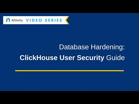 ClickHouse Security Guide