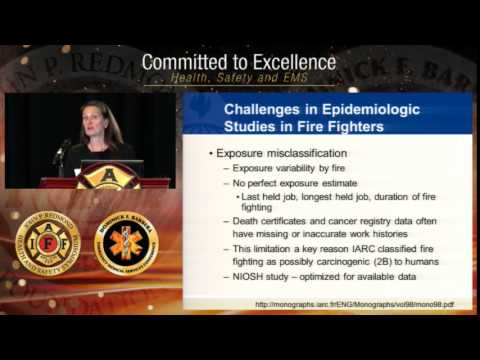 Workshop: Cancer in the Fire Service