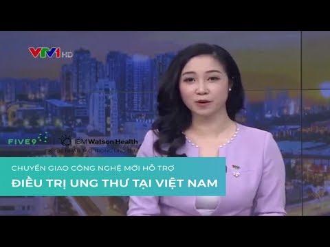 VTV1 - Chuyển giao công nghệ mới hỗ trợ Điều Trị Ung Thư tại Việt Nam