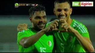 CAN 2017 (qualifications) : Seychelles 0 - Algérie 2 (but de Hilal Soudani) 2017 Video