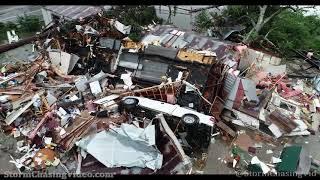 Brewton, AL Tornado Drone Aftermath - 6/19/2021