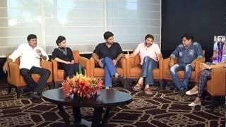son of satyamurthy team interview allu arjun samantha rajendra prasad trivikram