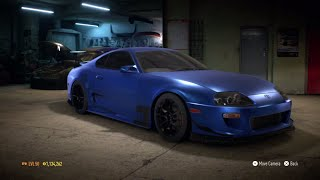 need for speed 2015 toyota supra sz r 1099 hp build gameplay