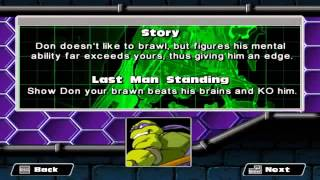 TMNT Mutant Melee PC 1080P HD Playthrough with LEONARDO - DOJO