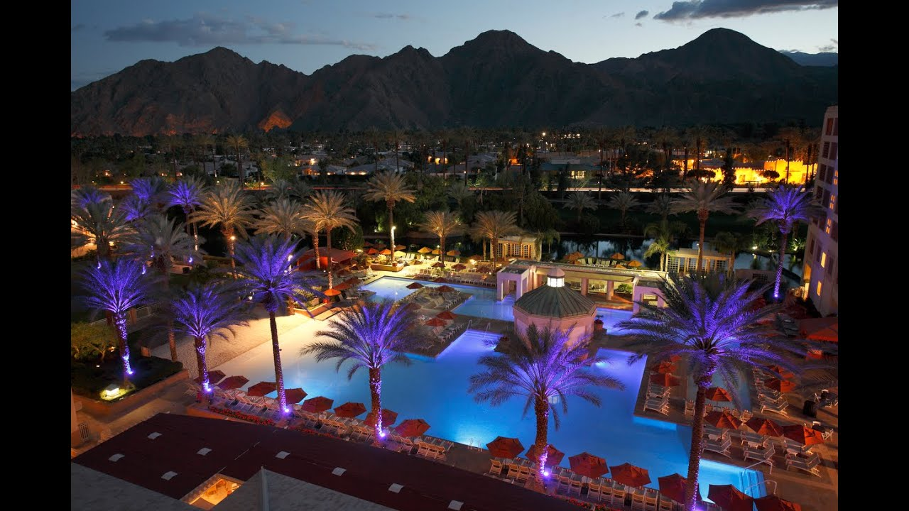 indian wells resort hotel, indian wells hotels - california - youtube