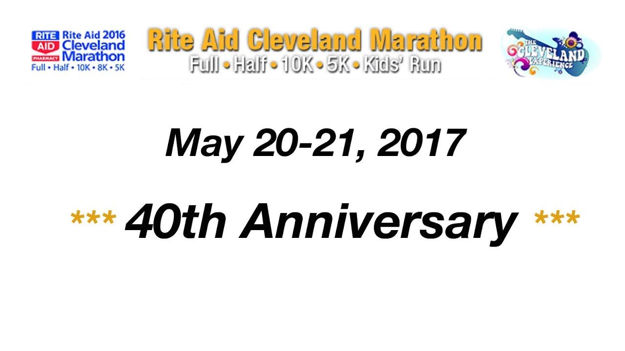 Rite Aid Cleveland Marathon, 2017 - Marathon, Half Marathon & 10K ...