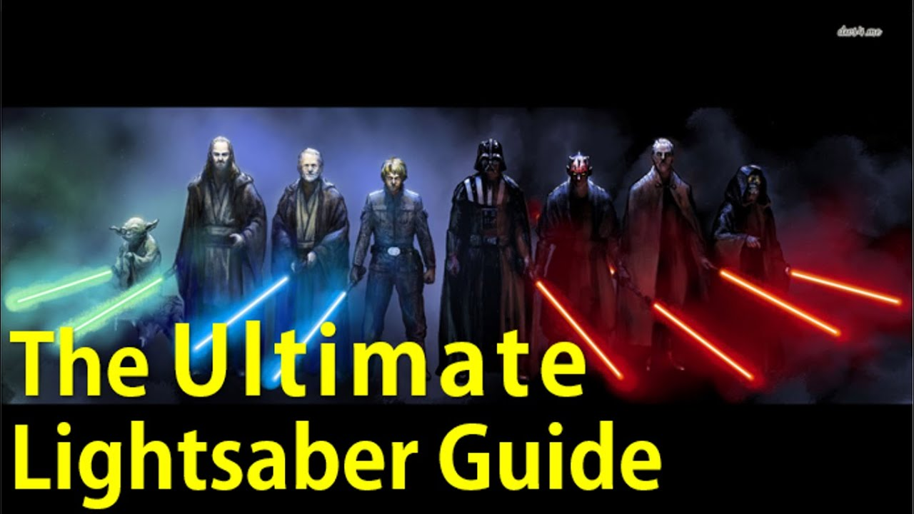 Lightsaber Combat Form: Djem So with Soresu Application - YouTube